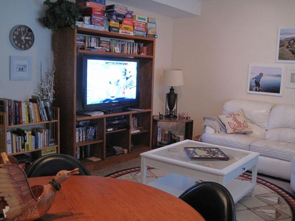 Family Room, games, dvd