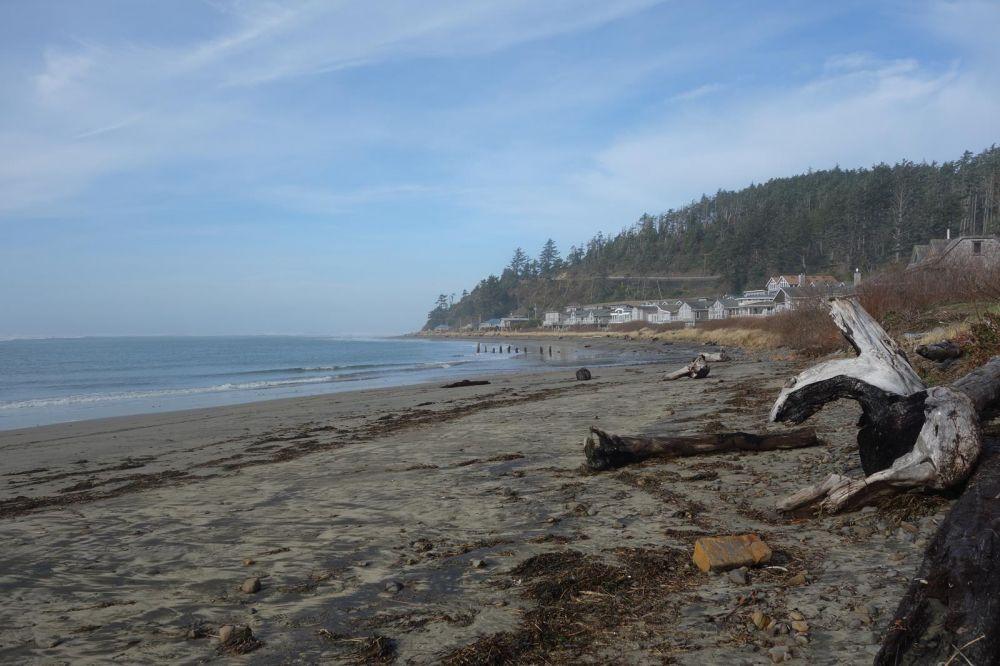 Netarts Bay Beach looking toward Happy Camp & the ocean