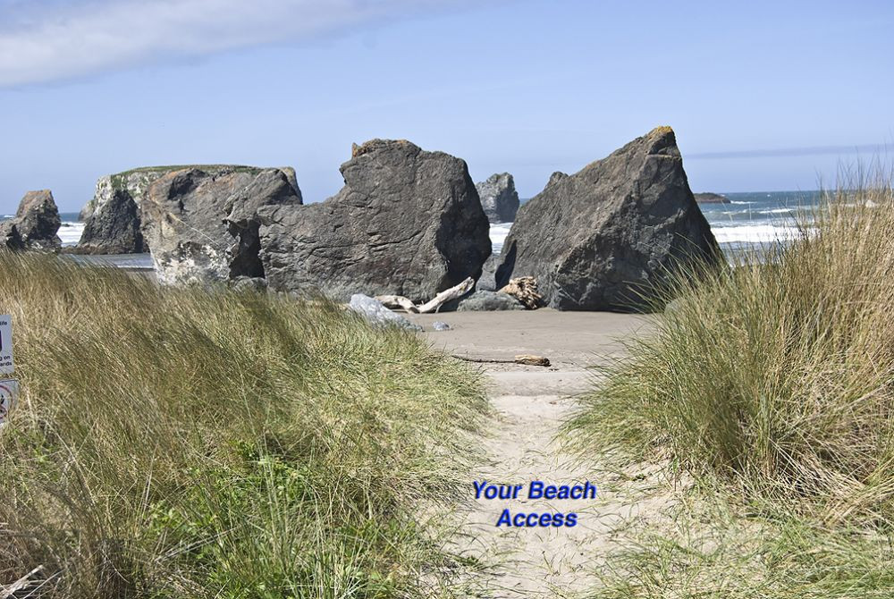 Enjoy a magical pristine beach, 60 seconds from your back yard gate!