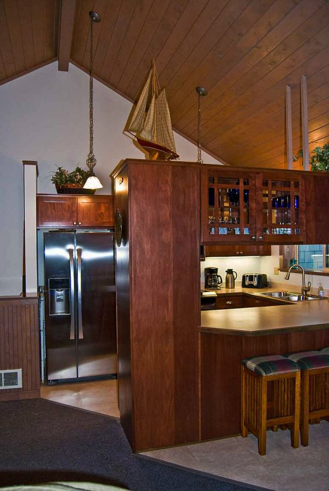 Gourmet all new stainless kitchen with purified water: (reverse osmossis system)