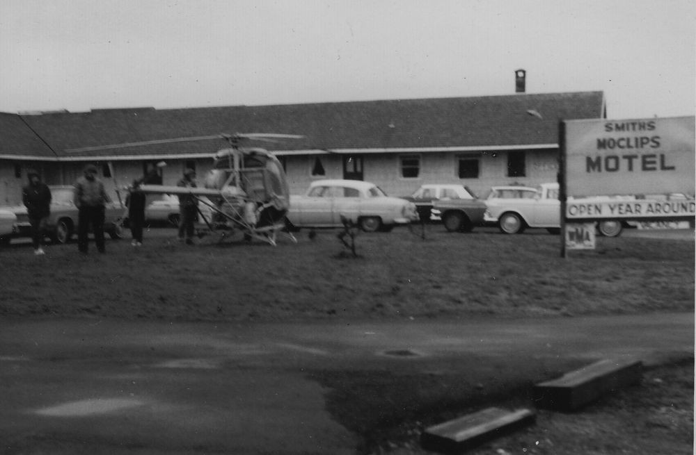 Our place in the old days when it was the Moclips Motel