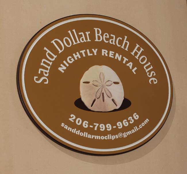 Sand Dollar Beach House sign