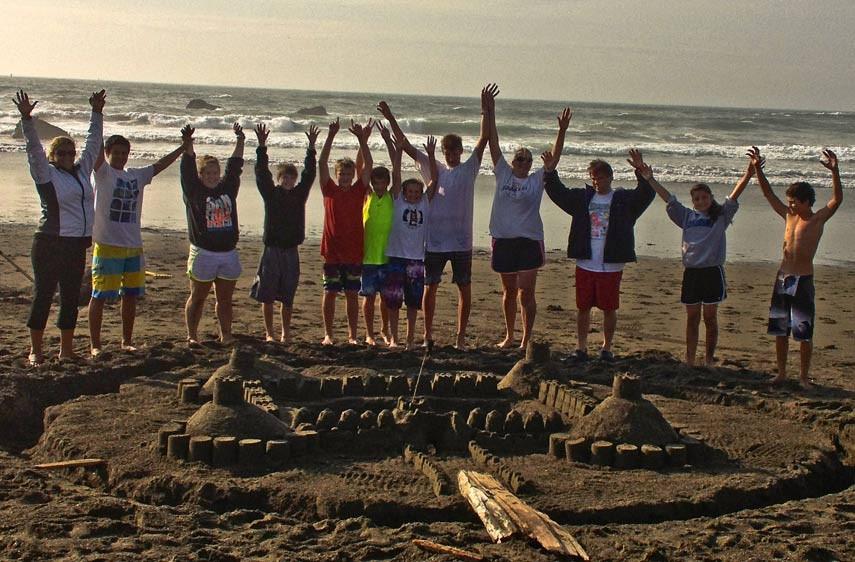 Build your Dream Sand Castle at Seascape